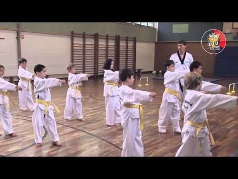 Taekwondo-kindertraining video