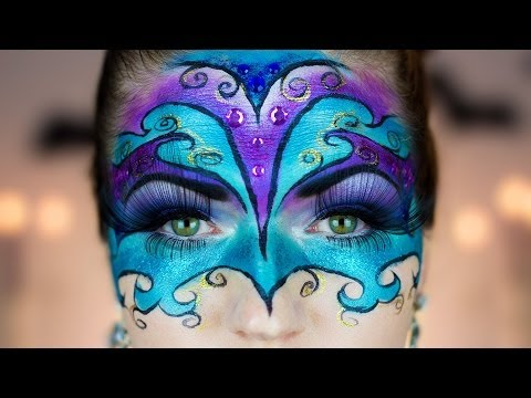 Masquerade Venetian Ball Halloween Tutorial
