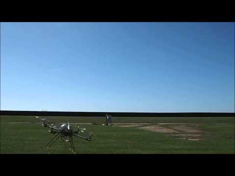 Quadcopter field test Turnigy H.A.L