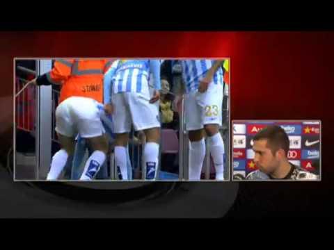 Jordi Alba Entrevista Post-Partido - FC Barcelona 0 - 1 Málaga CF [21-02-2015]