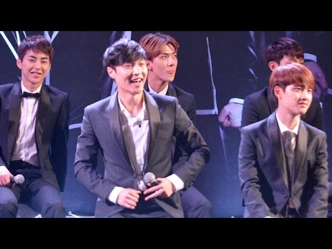 140912 Press Con : EXO FROM. EXOPLANET #1 in BANGKOK Part2/2