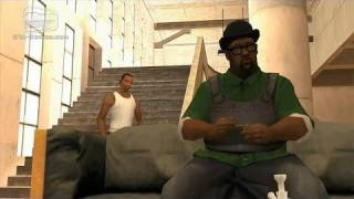GTA San Andreas - Ending / Final Mission - End Of The Line (HD)