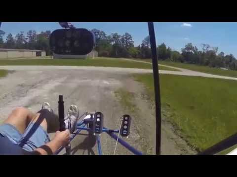 Sport 2S Practice Take Offs and Landings - Rick Sukey