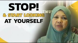 Stop! And Start Looking at Yourself - PROF MUHAYA 2019