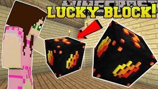 Minecraft: PRESTONPLAYZ LUCKY BLOCK!!! (LAVA & TROLLING!) Mod Showcase