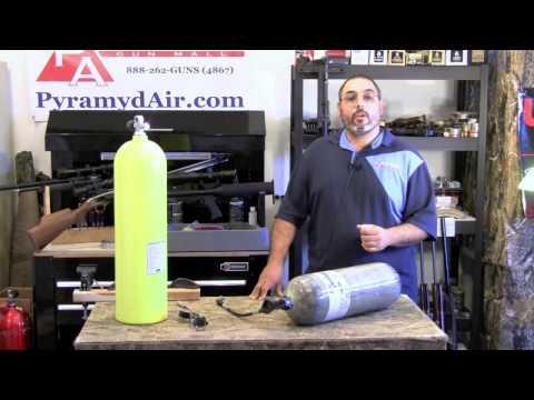 Air Venturi Carbon Fiber 4500 PSI HPA fill system