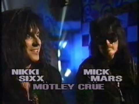 Nikki Sixx&Mick Mars Canadian Interviews, 1991, Part 2