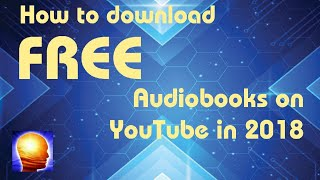 How to Download Audiobooks for FREE in mp3 format