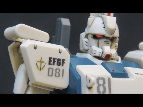 HGUC Ez8 (3: MS) Gundam 08th MS Team Shiro Amada plastic model review ガンプラ