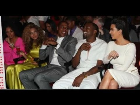 Beyonce and Jayz Double Date with Kanye West and Kim Kardashian!