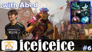 iceiceice - Pangolier Offlane | with Abed (Dark Willow) | Dota 2 Pro MMR Gameplay #6