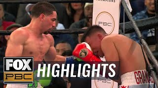 Danny Garcia vs Adrian Granados | HIGHLIGHTS | PBC on FOX