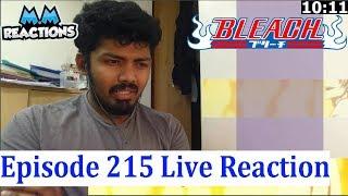 Ulquiorra vs Ichigo to Begin!! - Bleach Anime Episode 215 Live Reaction