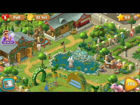 All Gardens completed😍. Full game tour. Playrix Gardenscapes.