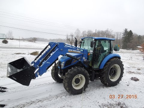 New Holland T4.95  Review Part 1