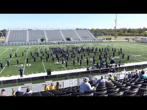 Enid High School Big Blue Band at OSSAA Broken Arrow Brigade 2014