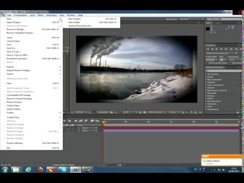 Как сделать затемнение по краям в фотошопе - Enote.ru