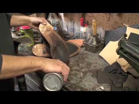 Mesmerizing video of a cobbler re-soling a shoe. Makes me want to buy something worth this kind of maintenance
