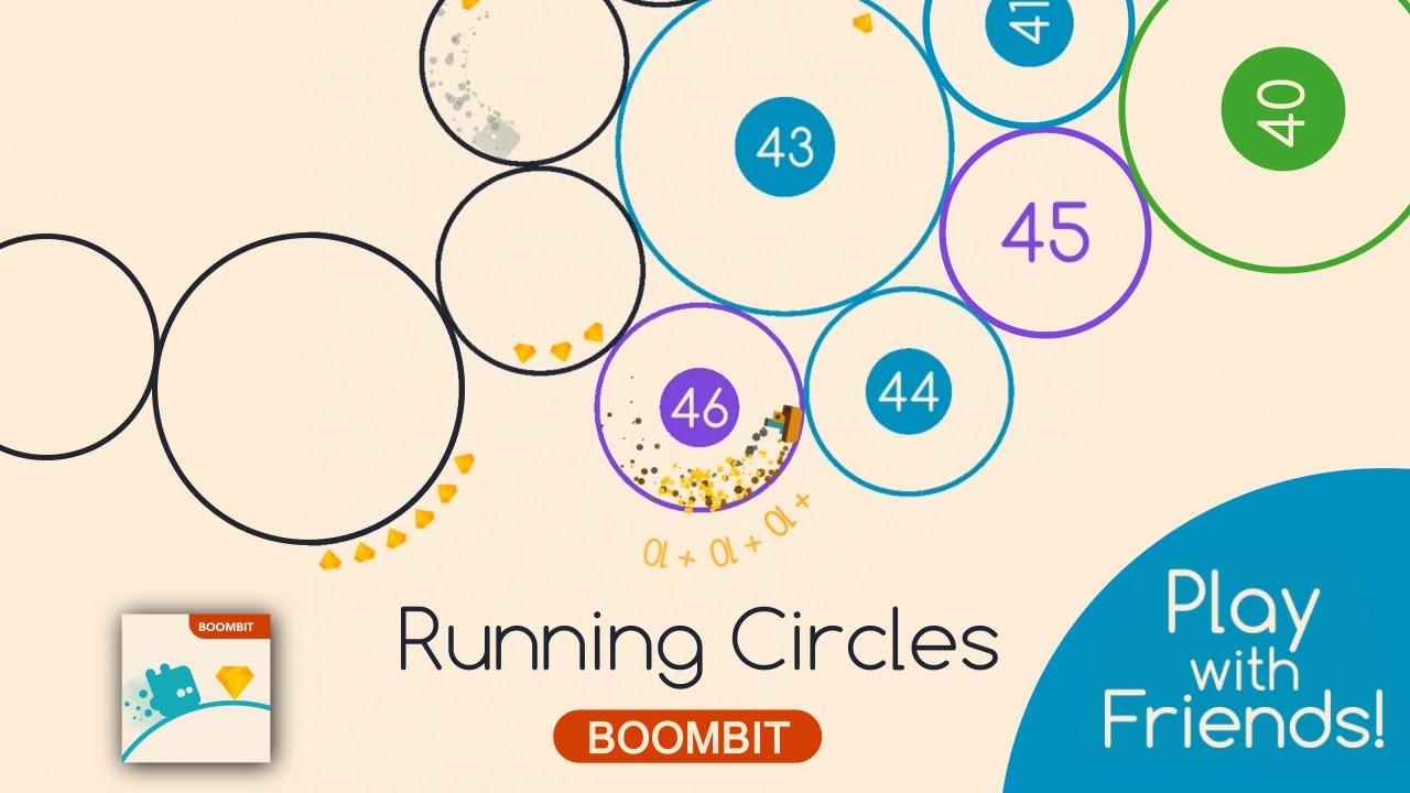 running circle