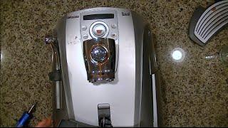 How To Take Apart a Saeco Talea Ring Plus Espresso Machine for repair