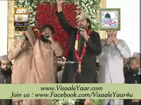 Shahzad Haneef Madni 22-04-2014 Mehfil Milad At Eidgah Sharif Rawalpindi.by Visaal video
