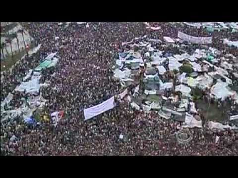 Tahrir Protest Movement Appears Unstoppable (Egypt Feb 8, 2011 - CBS News)