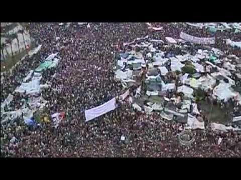 Tahrir Protest Movement Appears Unstoppable (Egypt Feb 8, 2011 - CBS News)