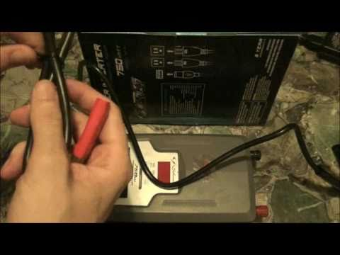 Schumacher 750 Watt Inverter Unboxing