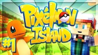WELCOME TO PIXELMON ISLAND! | Pixelmon Island Season 3! #1 (Minecraft Pokemon Mod)