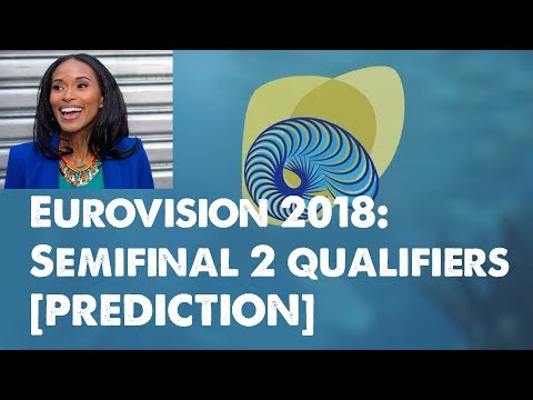PREDICTION: Eurovision 2018 Semifinal 2 Qualifiers