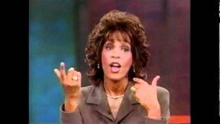 VJ Brendan Thompson Asking Whitney Houston a Question on the Oprah Winfrey Show
