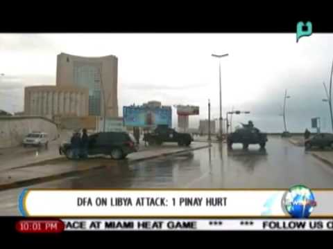 NewsLife: DFA on Libya attack: 1 Pinay hurt || Jan. 28, 2015