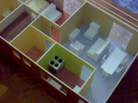 Como hacer una maqueta de una casa con ladrillos