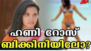 ചങ്ക്സിൽ ഹണി റോസിന്റെ ബിക്കിനി സീൻ ?? Honey Rose Bikini Seen at chunks malayalam movie