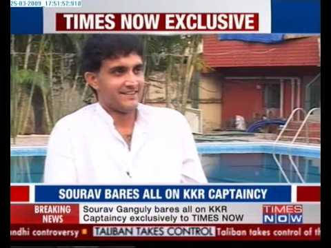 KKR Captain Sourav Ganguly Dethroned