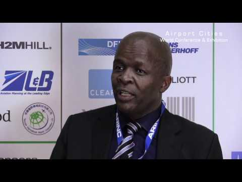 The Mayor of Ekurhuleni, host of Airport Cities 2013, talks to Global Airport Cities