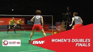 F   WD   FUKUSHIMA/HIROTA (JPN) [1] vs POLII/RAHAYU (INA) [4]   BWF 2019