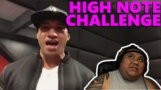 Hit The High Note Challenge Pt. 2 [MUSIC REACTION]