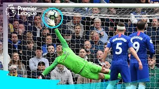 SPECTACULAR GOALKEEPER SAVES | De Gea, Alisson, Ederson | Premier League Compilation