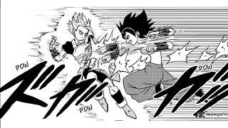 Animated Manga: Cabba VS Caulifla (with English fan dubbing)