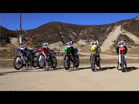 Motocross Action's 2014 450 Shootout video