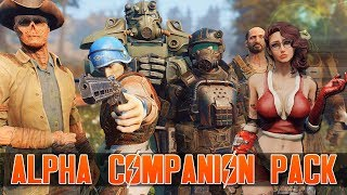 FALLOUT 4 - ALPHA COMPANION PACK MOD - The 6 Interesting New Voiced Companions Mods