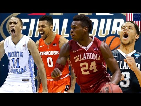March Madness 2016: Final Four with UNC, Syracuse, Oklahoma & Villanova is gonna be bananas