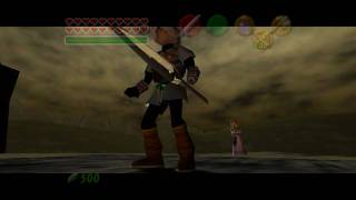 Fierce Deity vs Ganon in The Legend of Zelda: Ocarina of Time / Master Quest True Widescreen