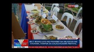 Iba't ibang luto ng pinakbet na nilagyan ng atchara, tampok sa Calacatchara Festival