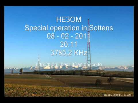 HE3OM SPECIAL OPERATION SOTTENS SWITZERLAND