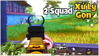 PUBG Mobile | 1 Mình Xử Lý 2 Squad Gọn Gành Dành Top 1 - Solo Squad Sanhok