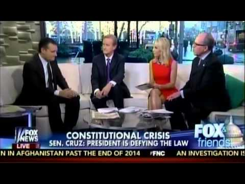 Sen. Ted Cruz Joins Fox and Friends to Explain Plan to Stop Obama's Amnesty
