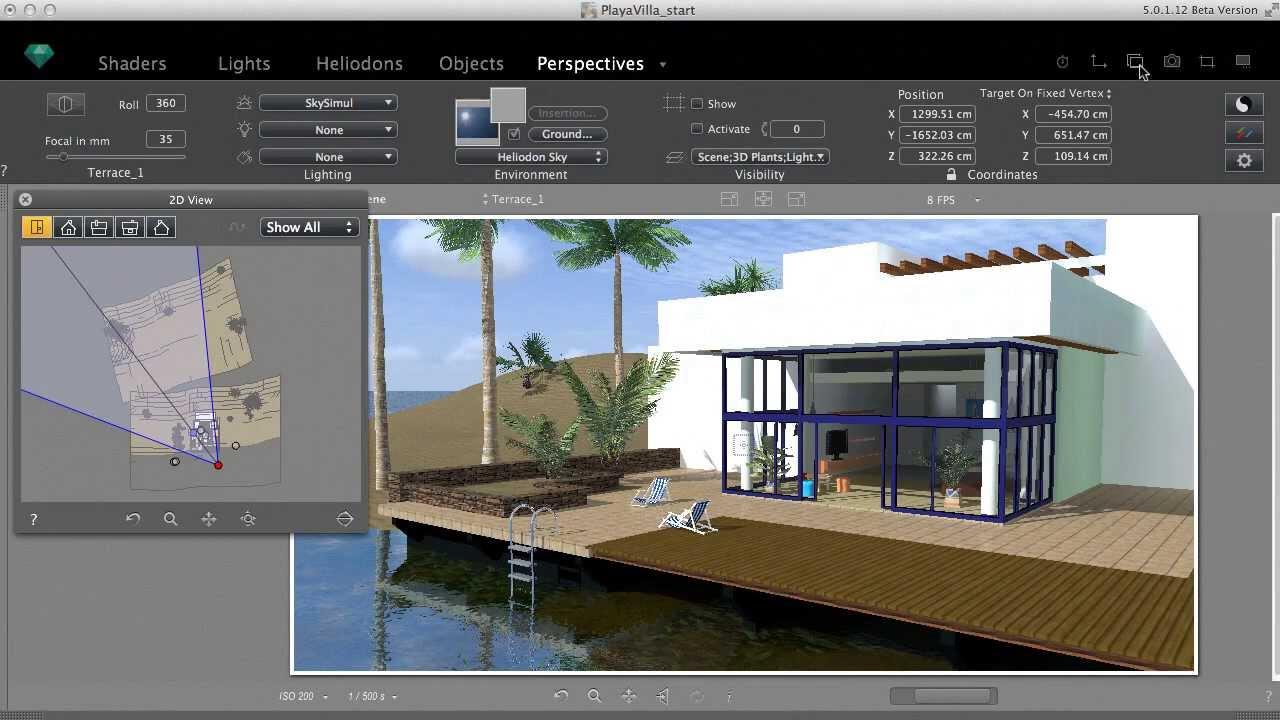 starting the work in artlantis 5 youtube. Black Bedroom Furniture Sets. Home Design Ideas