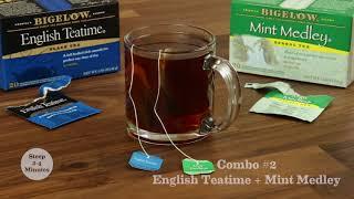 Bigelow Tea on News 12 CT Sharing Pomegranate Tea Vinaigrette Recipe